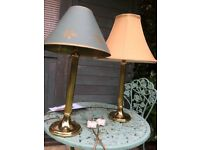 TWO M&S TABEL LAMPS