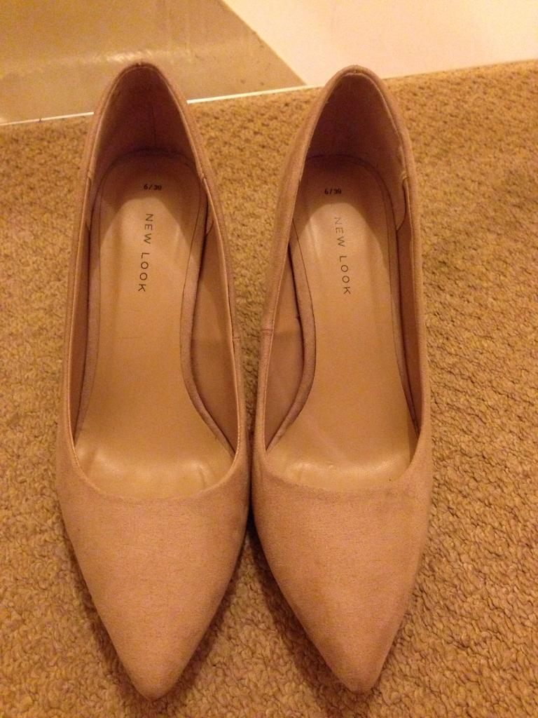 New Look peach/pink/nude heels size 6/39 | in York North
