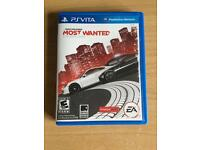 Need for speed most wanted on psvita (only one on psvita)