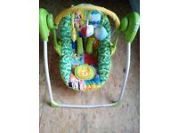 Baby swing seat/rocker