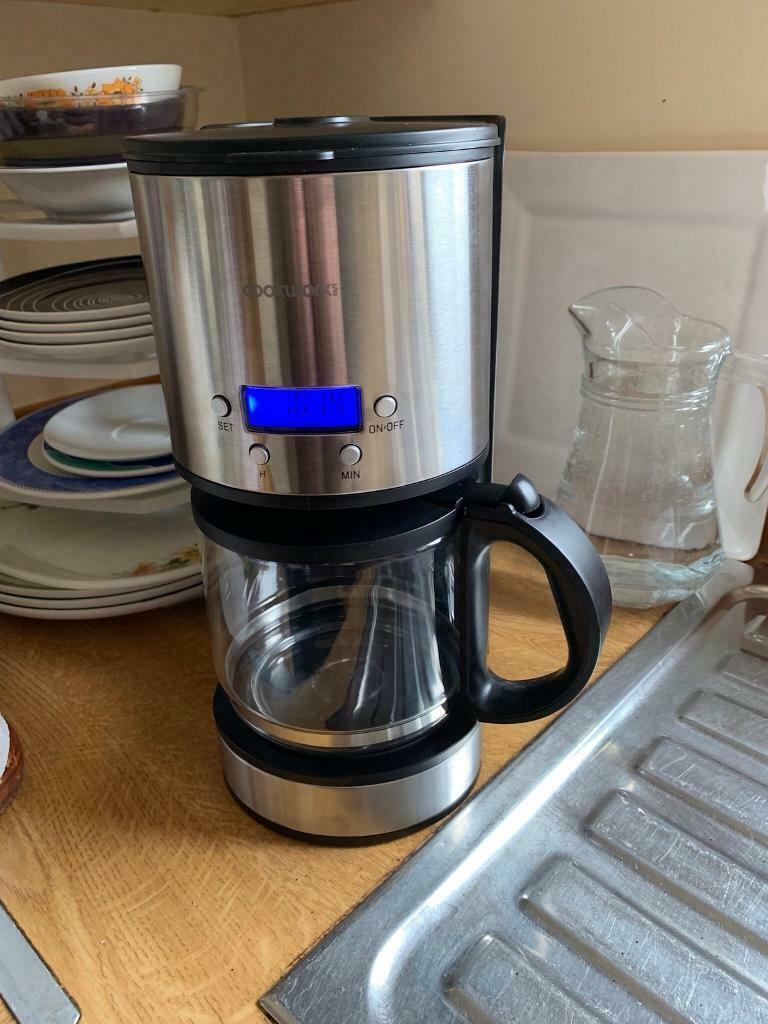 Cookworks Stainless Steel Coffee Maker With Timer In Oldmeldrum Aberdeenshire Gumtree