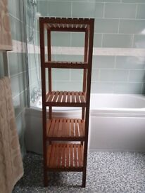 Shelving, ideal for bathrooms