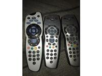 Sky remote sky plus silver grey one for £10