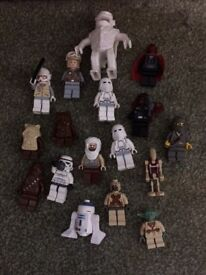 Star Wars Lego Figure Collection