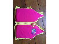 Girls swim float vest age 2-3