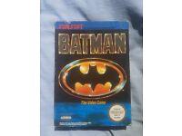 BATMAN NINTENDO NES GAME BOXED EXCELLENT CONDITION BARGAIN!!!