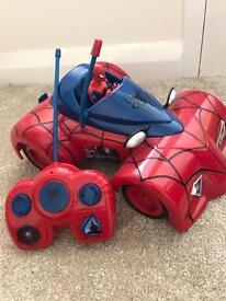 Spider-Man remote control car