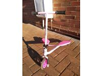 Pink sporter flicker scooter age 3-5 years