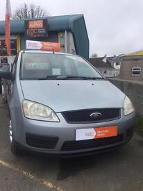 Ford c max 2004 1.8 petrol Manual 98k rac warranty finance this car with no deposit
