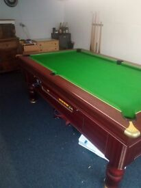 7ft by 4ft pub pool table