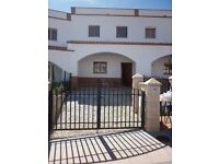 SPAIN Almeria long let in beautiful village lovely 3 bed modern town house
