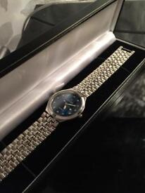 Mingsen Watch blue face
