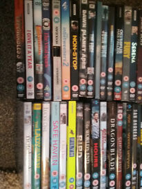 50 assorted DVD's