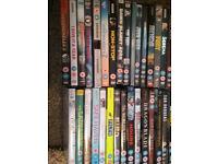 50 assorted DVD's