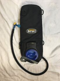 Internal insulated 2 litre water bladder for ruck sack