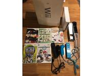 Nintendo Wii Bundle + Games