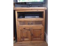TV unit - Strong & sturdy, made from drift wood size:H910 x W770 x D525mm