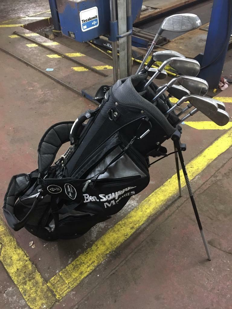 Callaway pro series irons , bag and free trolley