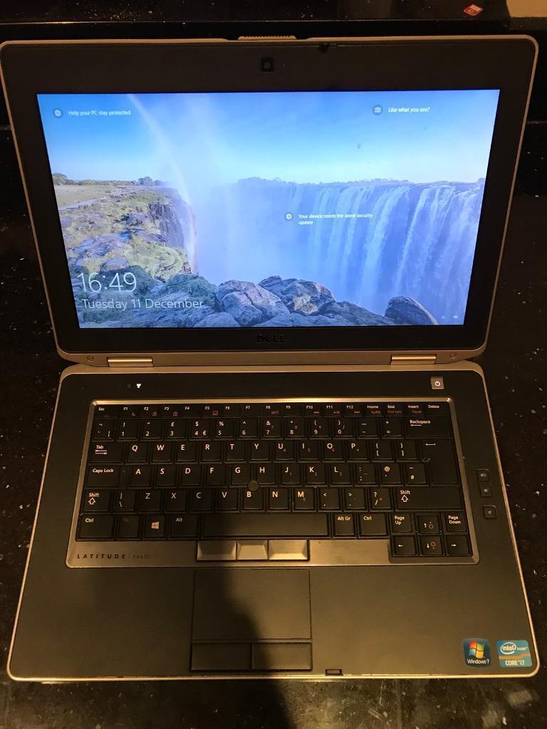 Dell Latitude E6430 i7 - 3740 CPU @ 2 70GHz 8GB RAM 256GB   in Borough  Green, Kent   Gumtree