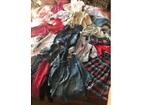 Clothing bundle size 2-3 dresses, trousers and tops etc.