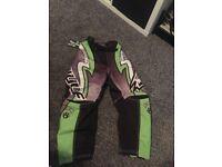 Wulf sport kids motorbike pants