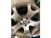X5 alloy wheels need refurb 4 alloys with center caps