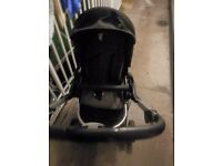 Casual Play Avant Pushchair - Black Suitable from birth - 15kg