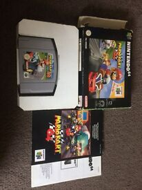 Mario kart 64 boxed