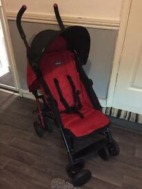 Chicco echo red stroller