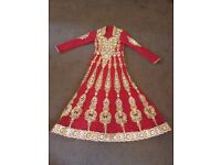 Anarkali party dress