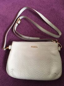 PERPERMINT GREEN FOSSIL HANDBAG WITH STRAP AND DUSTBAG