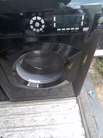 8kg black hotpoint 1400 spin free local delivery allelecticals