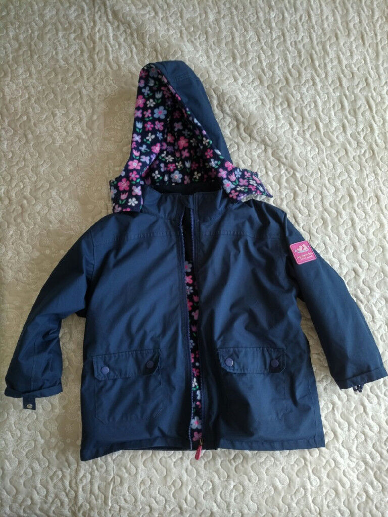 8caf282bd JoJo Maman Bebe 4-in-1 Waterproof Polarfleece Jacket
