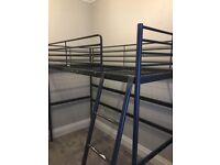 Svarta (Ikea) Loft bed frame