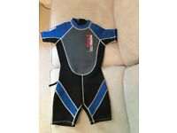 Wet suit, Children's, knee length