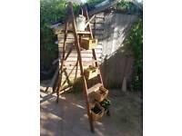 Decorative Garden planting ladder