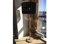 Ikea floor / ceiling lamp shade with detatchable stand