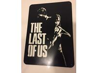The Last Of Us metal sign/art