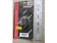 Trend 8mm router collet & nut for Bosch GOF 1300 ACE. Trend part 2608570105