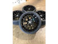 "Brand new set of 20"" alloy wheels and tyres Vauxhall Vivaro Renault Trafic"