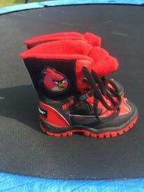 Angry Birds Snow Boots