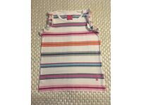 Girls Joules stripey top Age 8 years