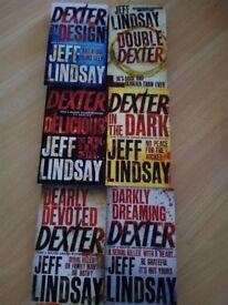 Dexter Paperback books - tv series Jeff Lindsay