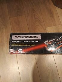 Magnusson 600mm Heavy Duty Tile Cutter