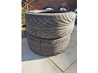 2x Tyres 275 35 20 good condition