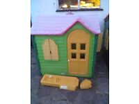 Little Tikes/Tykes Evergreen Country Cottage Playhouse-Roundhay Park Leeds 8 - Can Deliver RRP £300