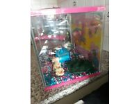 Fishtank with accesories