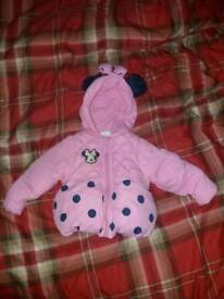Minnie mouse 0-3 month coat