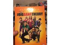 Big bang theory season 1 to 5