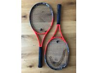 Head Youtek IG Radical MP Tennis Rackets. Grip 2 (grip 1 and 3 also available)